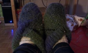 chaussons B mohaire