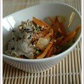 Porridge de soba  la japonaise, sans bl, sans lait