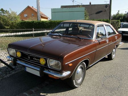 Chrysler 2 litres automatic 1973 1982 31e Randonnee Internationale des Vendanges de Rustenhart 2011 1