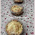 Crumble abricot canberry