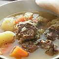 Soupe de jarret de boeuf
