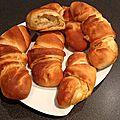 Croissants au lait fermenté