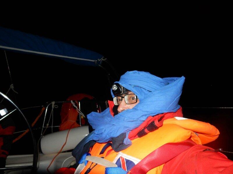 Navigation de nuit, premier quart 140216