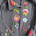 Broderies en laine
