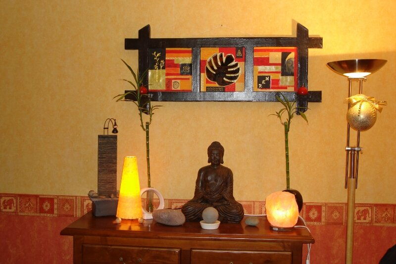 cadre zen photo de miroirs et cadres en carton bienvenue dans mon petit atelier. Black Bedroom Furniture Sets. Home Design Ideas