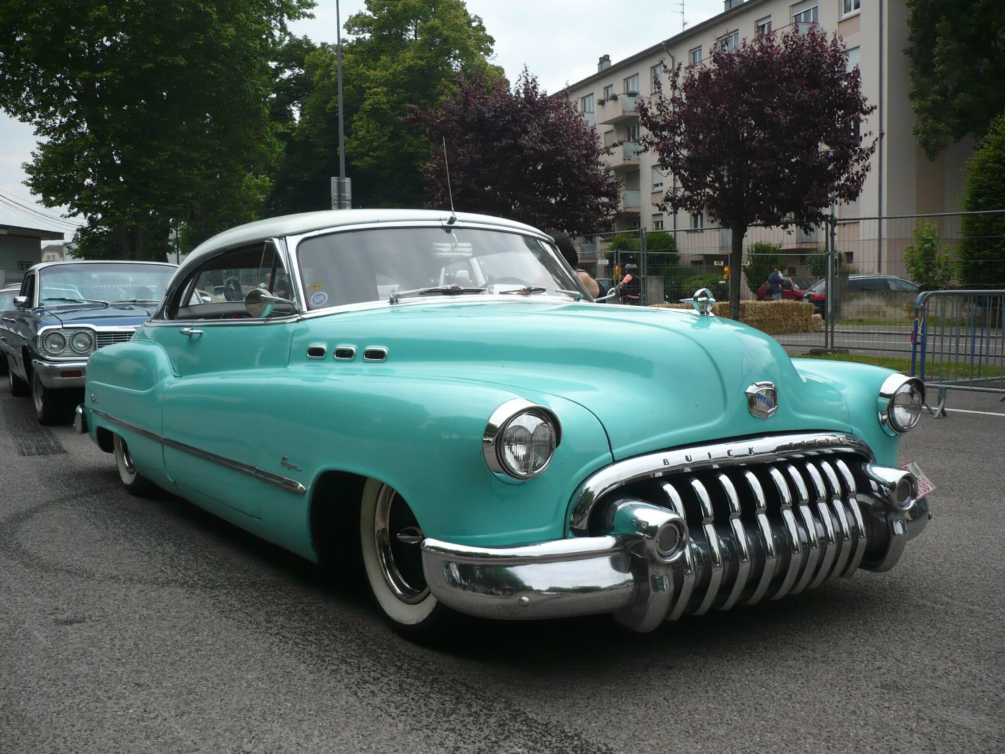 BUICK Super Eight Dynaflow 2door hardtop 1950 Illzach (1)