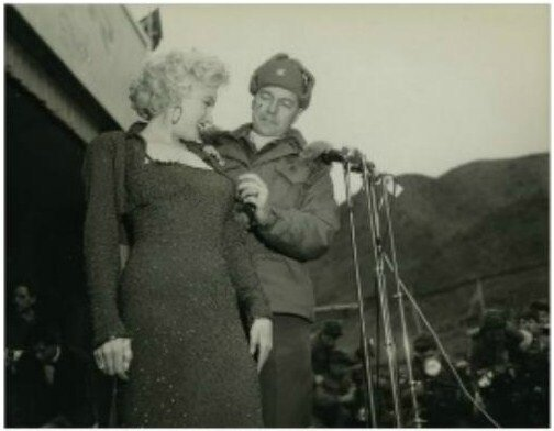 1954-02-17-korea-grenadier_palace-stage-160th_infantry_regiment-with_col_johnEkelly-by_walt_durrell-2