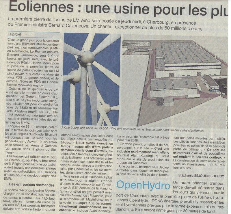 éoliennes cherbourg 1