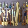 mes fuseaux et outils manoir Fraser 4 août 2007