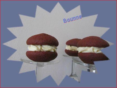 Woopies chocolat noir et blanc (6)