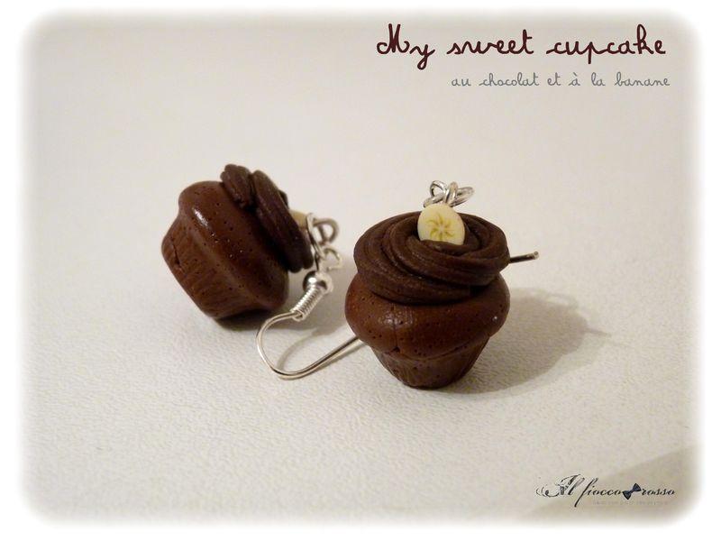 My sweet muffin chocolat banane