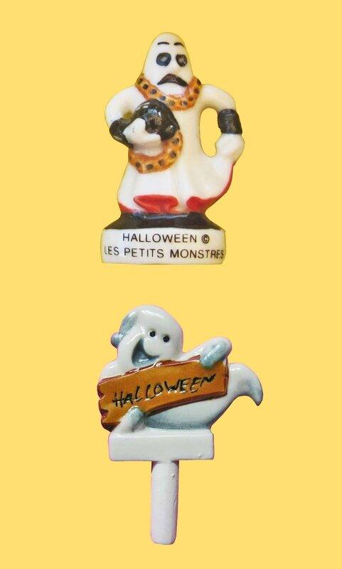 Fève Halloween 2 Fantômes