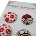 les boutons à recouvrir ou recouverts www.coeurdartichaut.com
