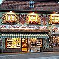 La maison du pain d'épices gertwiller bas-rhin