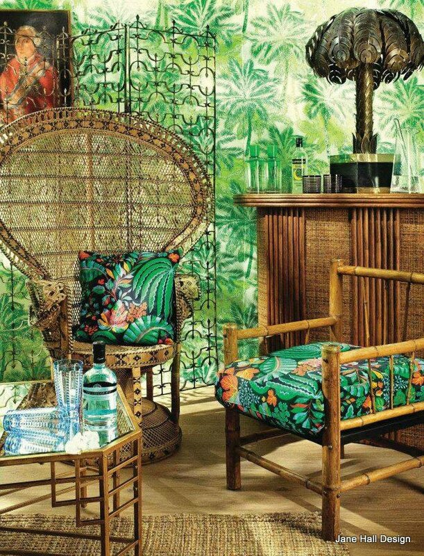 classic tropical décor