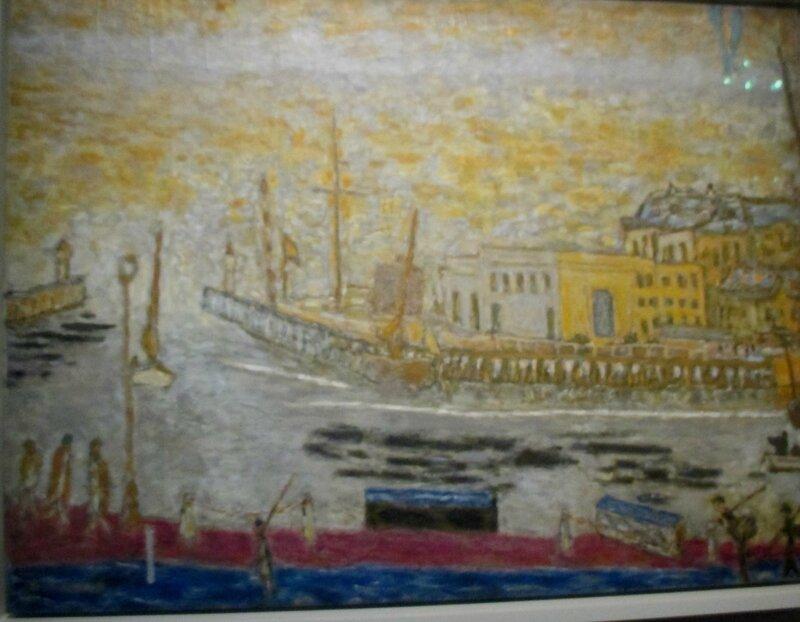 Trouville La sortie du port 1936-1946 Bonnard