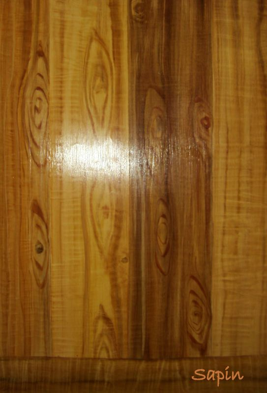 sapin photo de faux bois gargamod b ton cir peinture et mati rage. Black Bedroom Furniture Sets. Home Design Ideas