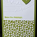 41. vert et blanc - printanier