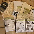Kit de démarrage stampin'up