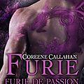 Dragonfury tome 5 : furie de passion écrit par coreene callahan / marie'