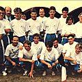 Groupe course en ligne 1990