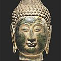 Celestial deities: early chinese buddhist sculpture ca. 500-1100 ce on view at throckmorton fine art