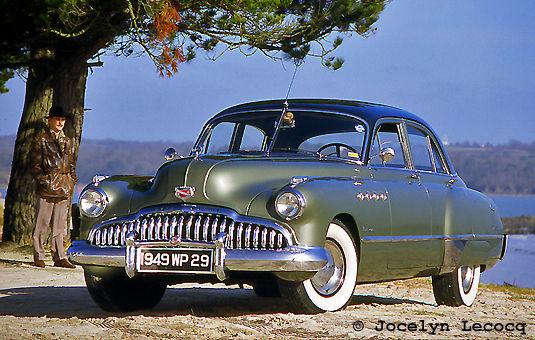 Buick Roadmaster sedan 1949