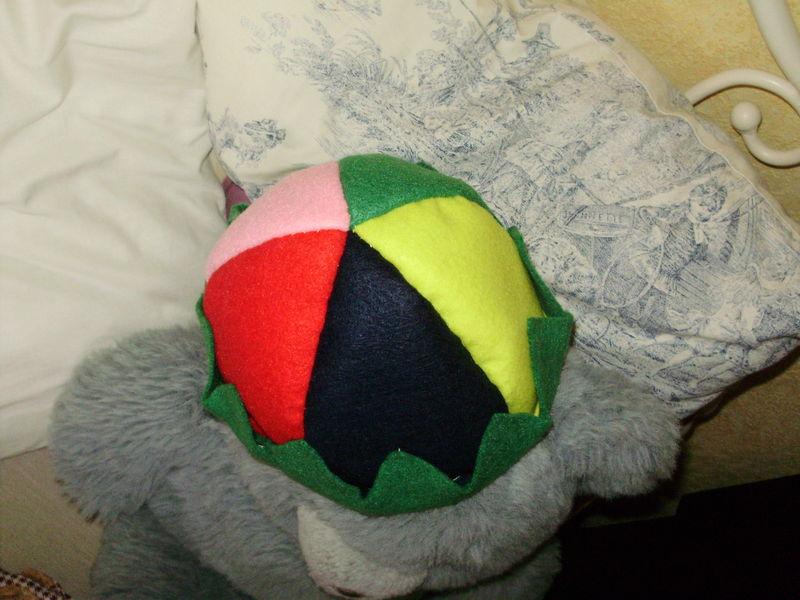 petit bonnet de feutrine