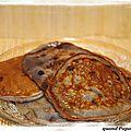 Pancakes aux myrtilles et sirop d'agave