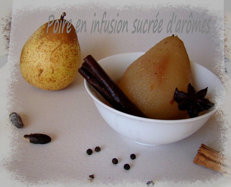 Poire en infusion d'aromes (2)