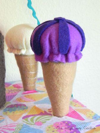 Panier marchande de glaces en feutrine Au pays des Cactus 8