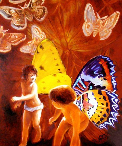 Les enfants papillons