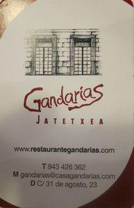 Casa Gandarias Carte de visite J&W