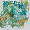 N°139 - 144 monoprints purs / pure monoprints