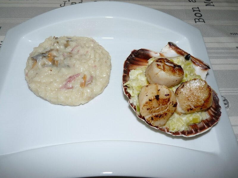 Risotto au thermomix