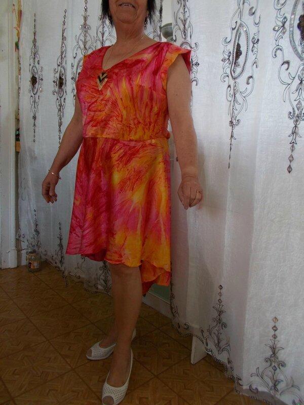 reglisse batik asymétrique