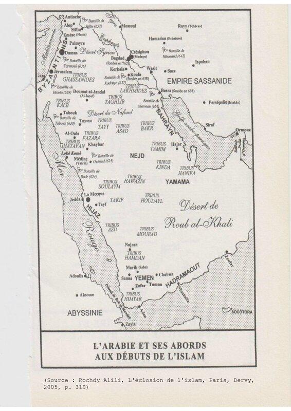 carte_Arabie_tribus