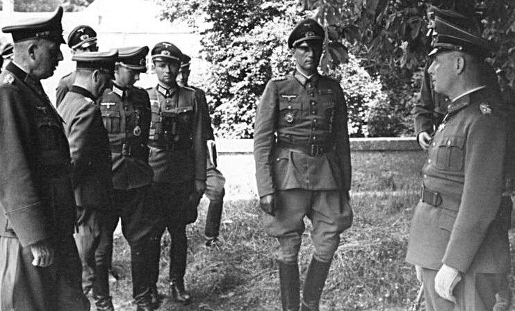 1944-Rommel et Feuchtinger