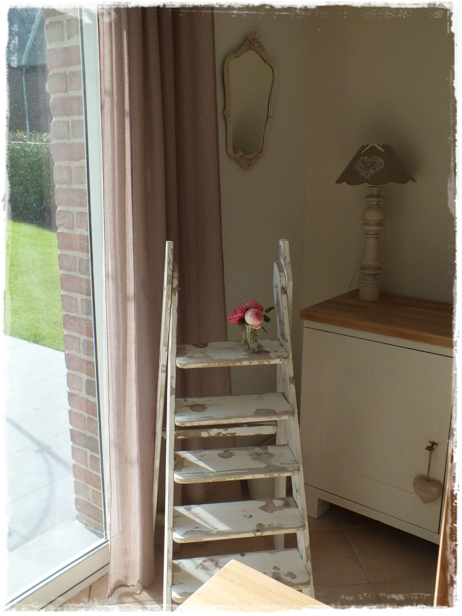 escabeau patin broc et patine le grenier de sara. Black Bedroom Furniture Sets. Home Design Ideas