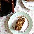 Gâteau épicé à la rhubarbe (vegan)