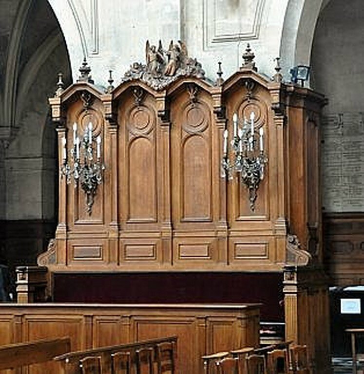 le banc d 39 uvre de l 39 eglise saint eustache le pieton de paris. Black Bedroom Furniture Sets. Home Design Ideas