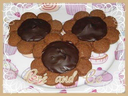 Biscuit coeur chocolat