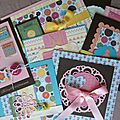 Atelier cartes pour le scrapbooking day