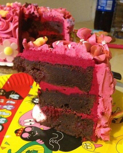 layer cake choco framboise (21)