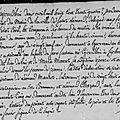 ° DEBRUXELLE jeanne 1834 St Leonard de Noblat Epouse BASSET Francois