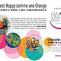 L'art est happy comme une orange
