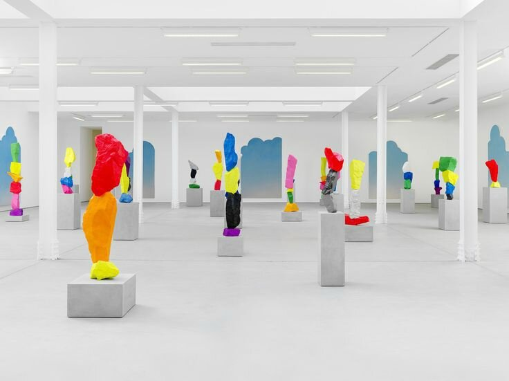 Ugo Rondinone presents three new bodies of work at Sadie Coles HQ in London