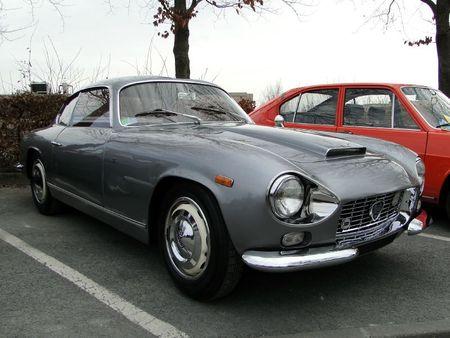 Lancia flaminia zagato ss 1963 salon champenois du véhicule de collection de Reims 2011 2