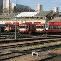 EAD X 4630 et locotracteurs au dépôt de Lyon-Vaise