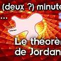 Deux (deux ?) minutes pour... le théorème de jordan